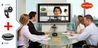Combo khuyến mại thiết bị họp trực tuyến YEALINK UVC30 + CP900 giá cực rẻ!